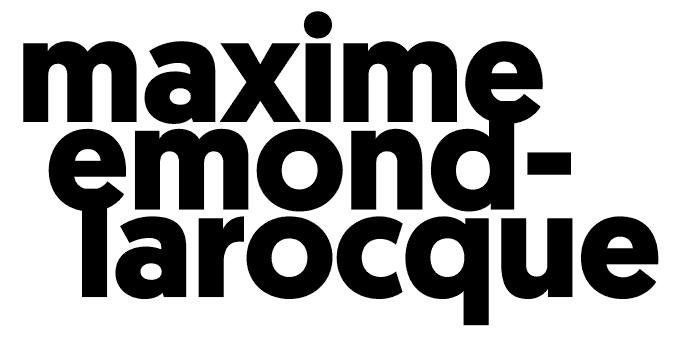 Maxime Emond-Larocque : Designer graphique