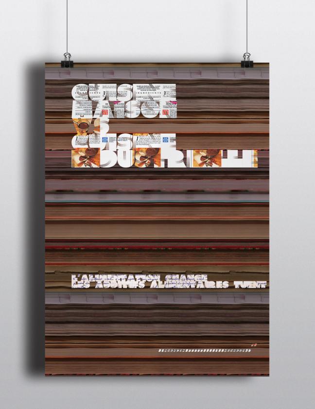 Cuisine maison VS cuisine industrielle : Affiche